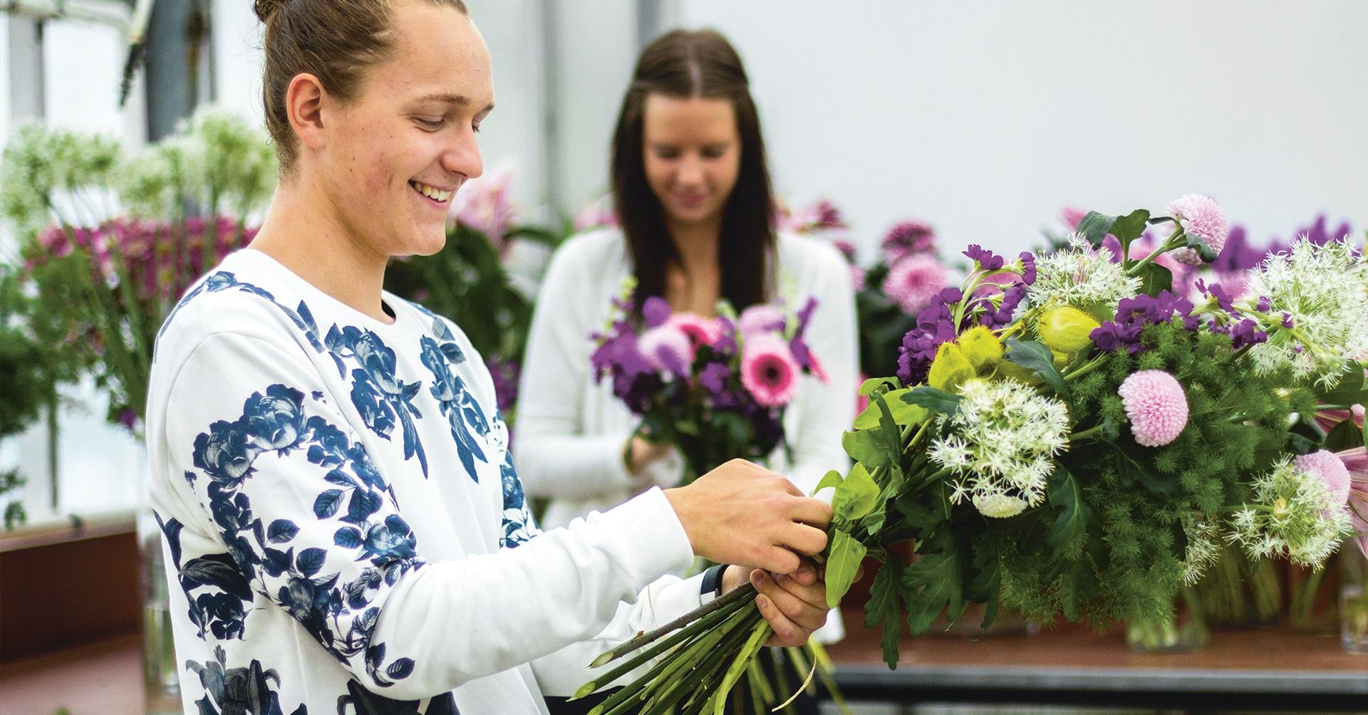 florist jobb stockholm